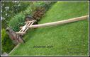 Meategietatik lantokietara garraiatzeko erabili zen gurdia berreskuratuta.