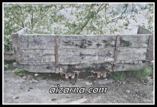 Meategian ikatza ateratzen erabili zen bagoia