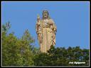 Jesusen Biotzaren estatua Donostian
