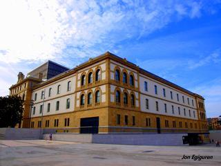 Zz-Donostiako Tabakalera eraikuntza.