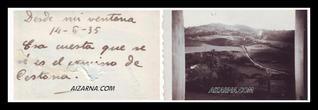 ZESTOARA BIDEA1935 (ARGAZKIA FAMILIA NAVAS)