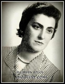Mari Karmen Epelde, Aizarnako armonio-jolea 1952-1955.