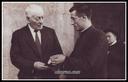 Tomas Azkuen omenaldian ateratako argazkia. .1935 (Argazkia Familia Navas)