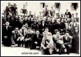 Aizarnarrak 1950-garren urtean (Argazkia Martin Uzkudun)
