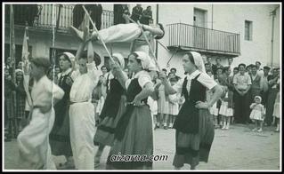 Luistarren jaiak 1957 ( Argazkia Antonio Irureta)