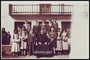 Eskola aurrean ( 1930 ) Argazkia familia Navas
