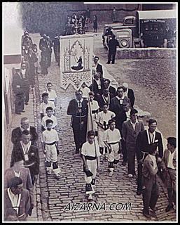 ZZ-Franziskotarren prozesioa