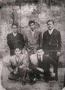 Lasarteko krosean lehiatu zuten hiru korrikalari Aizarnar argazkian. (Argazkia 1959 )