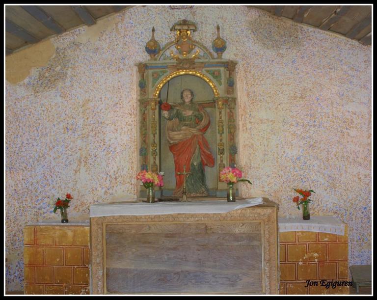 San Pelaio ermitako retaula.