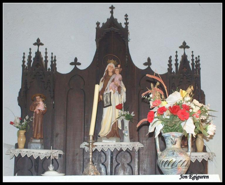 Santutxo ermitako retaula.