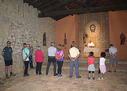 Lagun Onak Mendizale Elkartekoek,  Santa Engrazia ermitan egin zuten erlijio ekitaldia eguerdiko 12:00. Eguraldi zoragarria egin zuenez  kanpoan jende gehiago ikusi nuen.