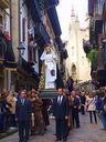 Aurten  Apirilean ospatu dugu  Aste Santua.  Aste honetan  prezesio ugari izaten da  Euskal Herriko hiri askotan. Argazkia Hondarribian atera nuen.  ( 2 )