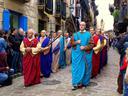 Aurten  Apirilean ospatu dugu  Aste Santua.  Aste honetan  prezesio ugari izaten da  Euskal Herriko hiri askotan. Argazkia Hondarribian atera nuen.  ( 1 )