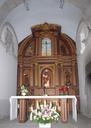 Urdanetako elizan, Martin de Tours Santuari   eskainita dagoen  erretaula.