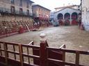 Jaietarako plaza dotorea  prestatu dute Zestoan.