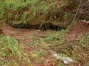 Honelako zuloetan ezkutatzen  dira Aizarnan sortzen diren errekak. Urtarrileko euriteak sortu  dituena ere sartu dira eta ez dira oso txikiak izan.